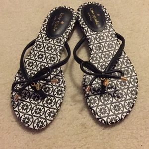 NWOT Kate Spade Black & White Mistic Size 8 Flats